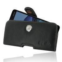 Leather Horizontal Pouch Case with Belt Clip for Nokia 7