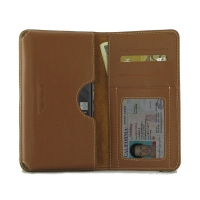 Leather Card Wallet for BlackBerry KEY2 | BlackBerry KEY2 LE (Brown)