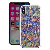 Natural Sea Shell Pattern Protective Fashion Case for Apple iPhone X | iPhone 10 (Colorful Pattern)