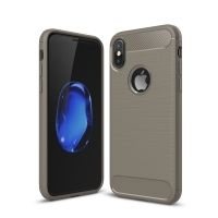 Carbon Fiber Case for Apple iPhone X | iPhone 10 (Grey)