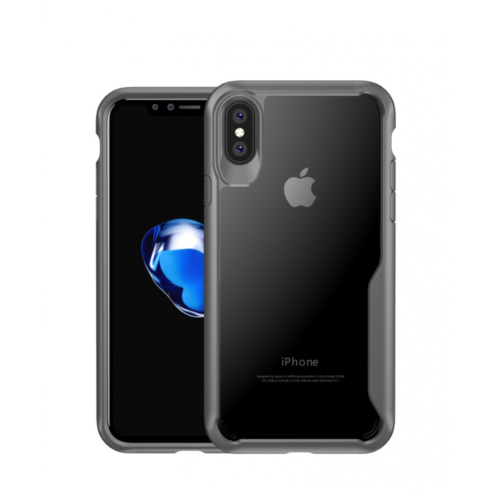 10% OFF + FREE SHIPPING, Buy Best PDair Premium Protective iPhone X | iPhone 10 Super Series Ultra Thin HD transparent PC Case (Grey).  You also can go to the customizer to create your own stylish leather case if looking for additional colors, patterns an