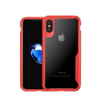 10% OFF + FREE SHIPPING, Buy Best PDair Premium Protective iPhone X | iPhone 10 Super Series Ultra Thin HD transparent PC Case(Red).  You also can go to the customizer to create your own stylish leather case if looking for additional colors, patterns and