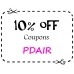 SALE Discount Coupon 10% OFF : PDAIR
