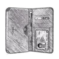 PDair iPhone 7 Plus Card Wallet Sleeve, Zip Card Wallet