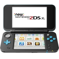 New Nintendo 2DS LL Case, Flip Case Cover, PDair Leather Sleeve Pouch