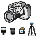 Camera Bag, Camera Strap, Camera Strap Convertor, Mini Tripod Stand, Selfie Stick and Card Reader - Buy it online! Enjoy 10% OFF + FREE SHIPPING