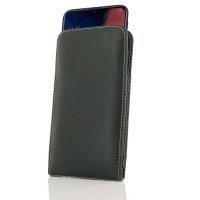 Leather Vertical Pouch Case for Samsung Galaxy A20