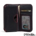 Sony Xperia Z5 Compact Leather Wallet Sleeve Case (Red Stitch) offers worldwide free shipping by PDair