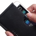 iPhone 6 6s Leather Wallet Sleeve Case (Black Stitch) handmade leather case by PDair