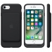 iPhone 7 in Official Smart Battery Case Holster Case (Green Stitch) genuine leather case by PDair