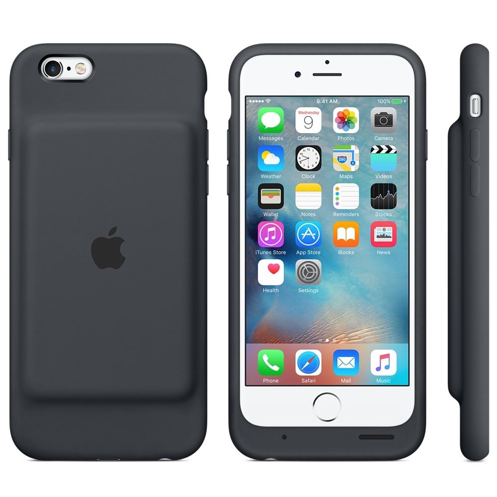 iphone 6 6s in official smart battery case holster case. Black Bedroom Furniture Sets. Home Design Ideas