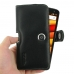 Moto X Force Leather Holster Case genuine leather case by PDair