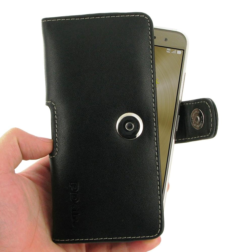 asus zenfone 3 ze520kl leather holster case belt clip. Black Bedroom Furniture Sets. Home Design Ideas