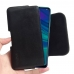 Huawei Enjoy 9s Leather Holster Pouch Case (Black Stitch) handmade leather case by PDair