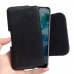 Nokia 7.1 Leather Holster Pouch Case (Black Stitch) handmade leather case by PDair
