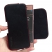 Sony Xperia XA1 Leather Holster Pouch Case (Red Stitch) handmade leather case by PDair