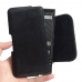 BlackBerry KEY2 Leather Holster Pouch Case (Black Stitch) handmade leather case by PDair