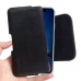 iPhone XR Leather Holster Pouch Case (Black Stitch) handmade leather case by PDair