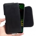 LG G8 ThinQ Leather Holster Pouch Case (Black Stitch) handmade leather case by PDair