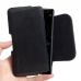 Sony Xperia XZ2 Leather Holster Pouch Case (Black Stitch) handmade leather case by PDair