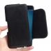 Asus Zenfone 3 Zoom Leather Holster Pouch Case (Black Stitch) handmade leather case by PDair