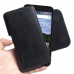BlackBerry Aurora Leather Holster Pouch Case (Black Stitch) handmade leather case by PDair