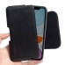 iPhone 11 (in Slim Cover) Leather Holster Pouch Case (Black Stitch) handmade leather case by PDair