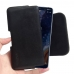 Nokia 9 PureView Leather Holster Pouch Case (Black Stitch) handmade leather case by PDair