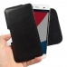 Pepsi Phone P1 P1s Leather Holster Pouch Case (Black Stitch) genuine leather case by PDair