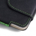 iPhone 7 Plus Leather Holster Pouch Case (Green Stitch) top quality leather case by PDair