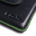 iPhone 7 Plus Leather Holster Pouch Case (Green Stitch) custom degsined carrying case by PDair