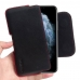 iPhone 11 Pro Max  d top quality full grain genuine leather coming together creates this extraordinary Apple iPhone 11 Pro Max Leather Holster Pouch Case while adding luxury and full protection.