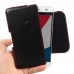 Pepsi Phone P1 P1s Leather Holster Pouch Case (Red Stitch) genuine leather case by PDair