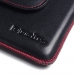 Samsung Galaxy J7 2016 Leather Holster Pouch Case (Red Stitch) offers worldwide free shipping by PDair