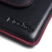 Samsung Galaxy On7 2016 Leather Holster Pouch Case (Red Stitch) offers worldwide free shipping by PDair