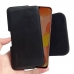 Huawei Nova 5 Pro Leather Holster Pouch Case (Black Stitch) handmade leather case by PDair