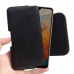 Huawei Y6 Pro (2019) Leather Holster Pouch Case (Black Stitch) handmade leather case by PDair