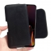 OnePlus 6T Leather Holster Pouch Case (Black Stitch) handmade leather case by PDair