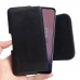 OnePlus 7 Leather Holster Pouch Case (Black Stitch) handmade leather case by PDair