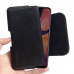 Samsung Galaxy A20 Leather Holster Pouch Case (Black Stitch) handmade leather case by PDair