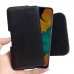 Samsung Galaxy A30 Leather Holster Pouch Case (Black Stitch) handmade leather case by PDair
