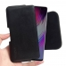 Samsung Galaxy S10 5G Leather Holster Pouch Case (Black Stitch) handmade leather case by PDair
