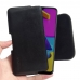 Samsung Galaxy M10s Leather Holster Pouch Case (Black Stitch) is custom designed to allow you to carry your device on belt easily. You can remove your device anytime by the opening at the bottom. Luxury slim design with full protection and added comfort l