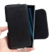 Sony Xperia XZ3 Leather Holster Pouch Case (Black Stitch) handmade leather case by PDair