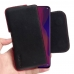 OPPO Find X Leather Holster Pouch Case (Red Stitch) handmade leather case by PDair