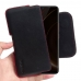 ViVO iQOO Leather Holster Pouch Case (Red Stitch) handmade leather case by PDair