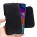 Samsung Galaxy A70 Leather Holster Pouch Case (Black Stitch) handmade leather case by PDair