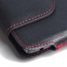 LG V10 Leather Holster Pouch Case (Red Stitch) custom degsined carrying case by PDair