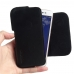 Asus Zenfone Live Leather Holster Pouch Case (Black Stitch) handmade leather case by PDair