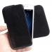MEIZU U10 Leather Holster Pouch Case (Black Stitch) handmade leather case by PDair